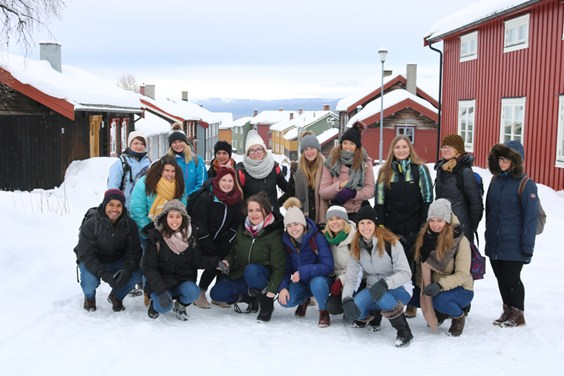 Interesting daytrip for our international students
