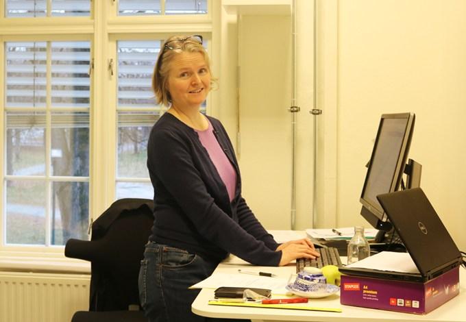 Prorektor for masterutdanning, Ellen Karoline Gjervan, er fornøyd med at studietilbudet ved DMMH utvides.